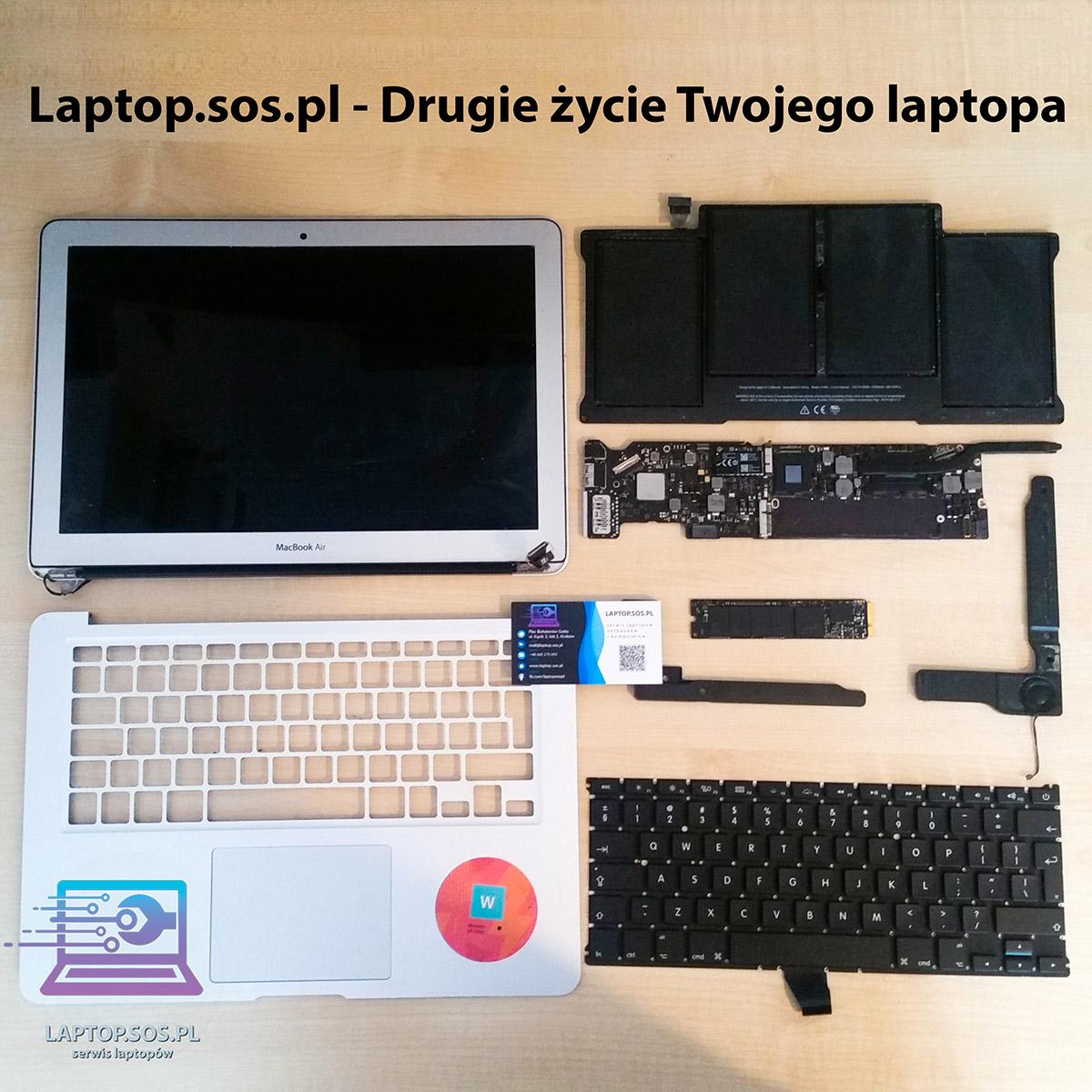 laptop naprawa płyty głównej