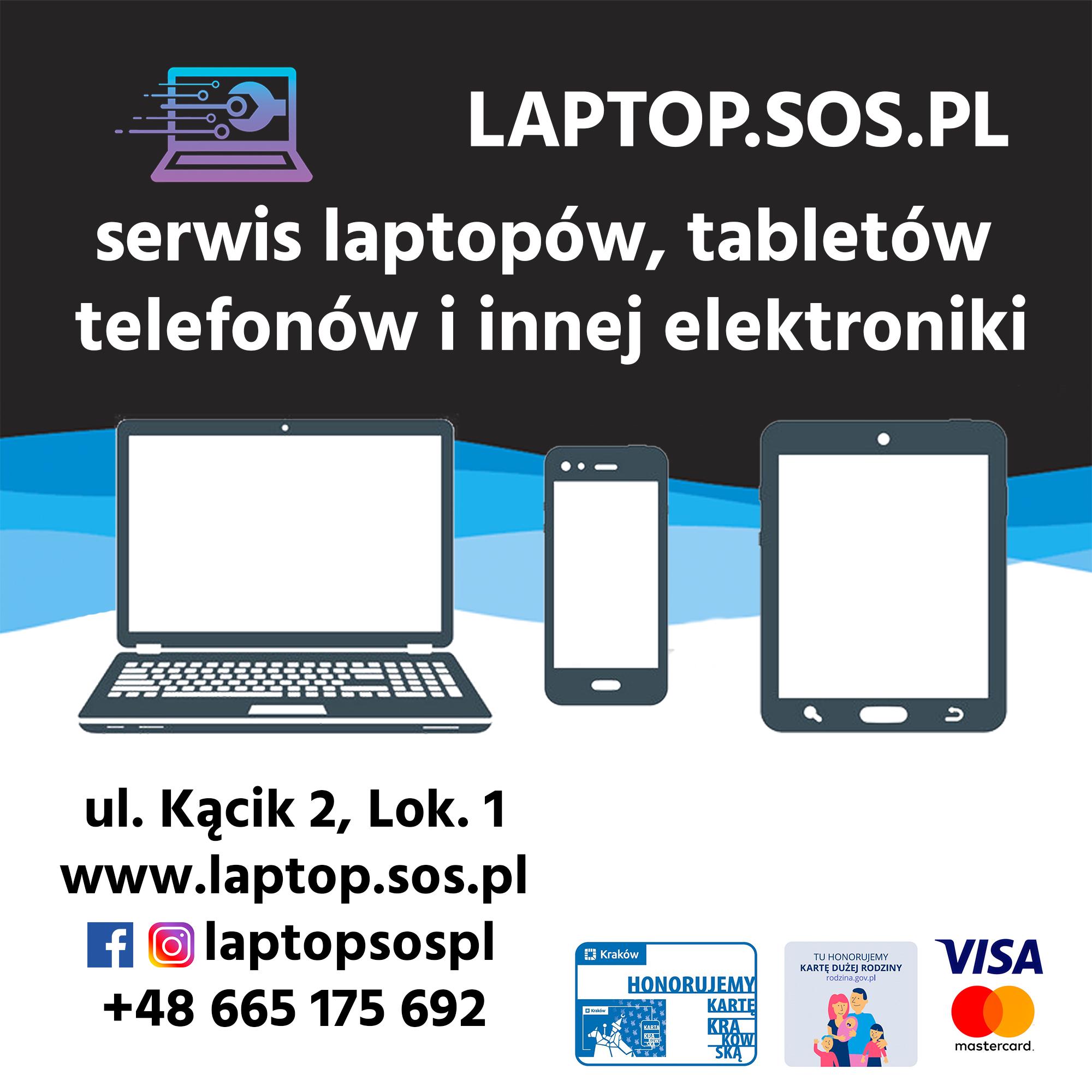 serwis laptopów tabletów i innej elektroniki kraków