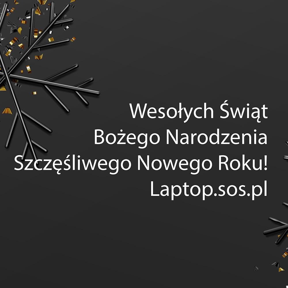 Radosnych i spokojnych Świąt Bożego Narodzenia oraz wszystkiego najlepszego w Nowym Roku życzy Laptop.sos.pl