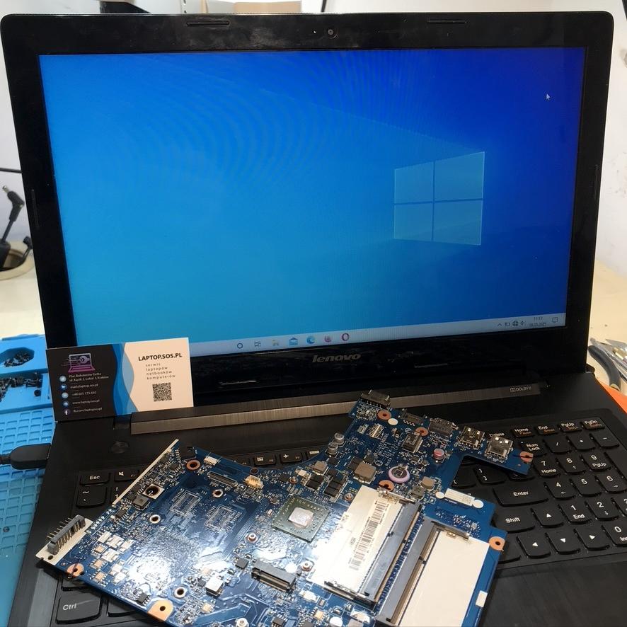 wymiana p艂yty g艂ownej w laptopie Lenovo
